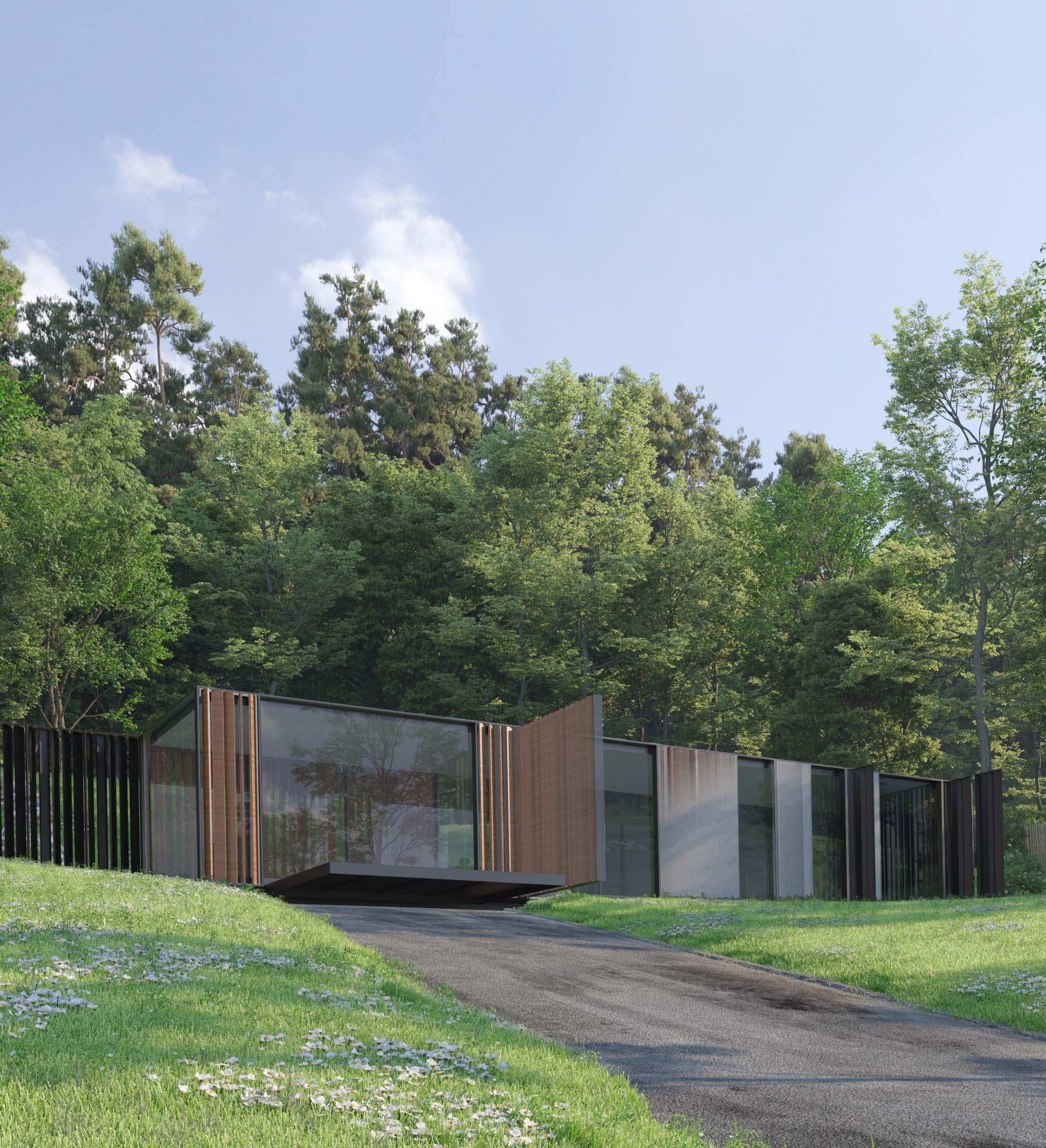Modela tu edificio de arquitectura modular inteligente.